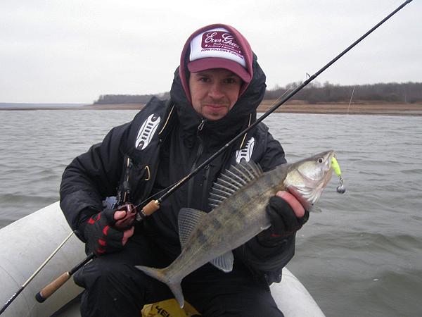 клев рыбы на вазузе в марте